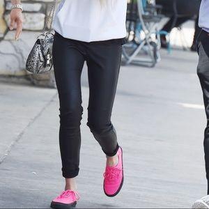 IRO 100% Leather Adonis Leggings Size FR 36
